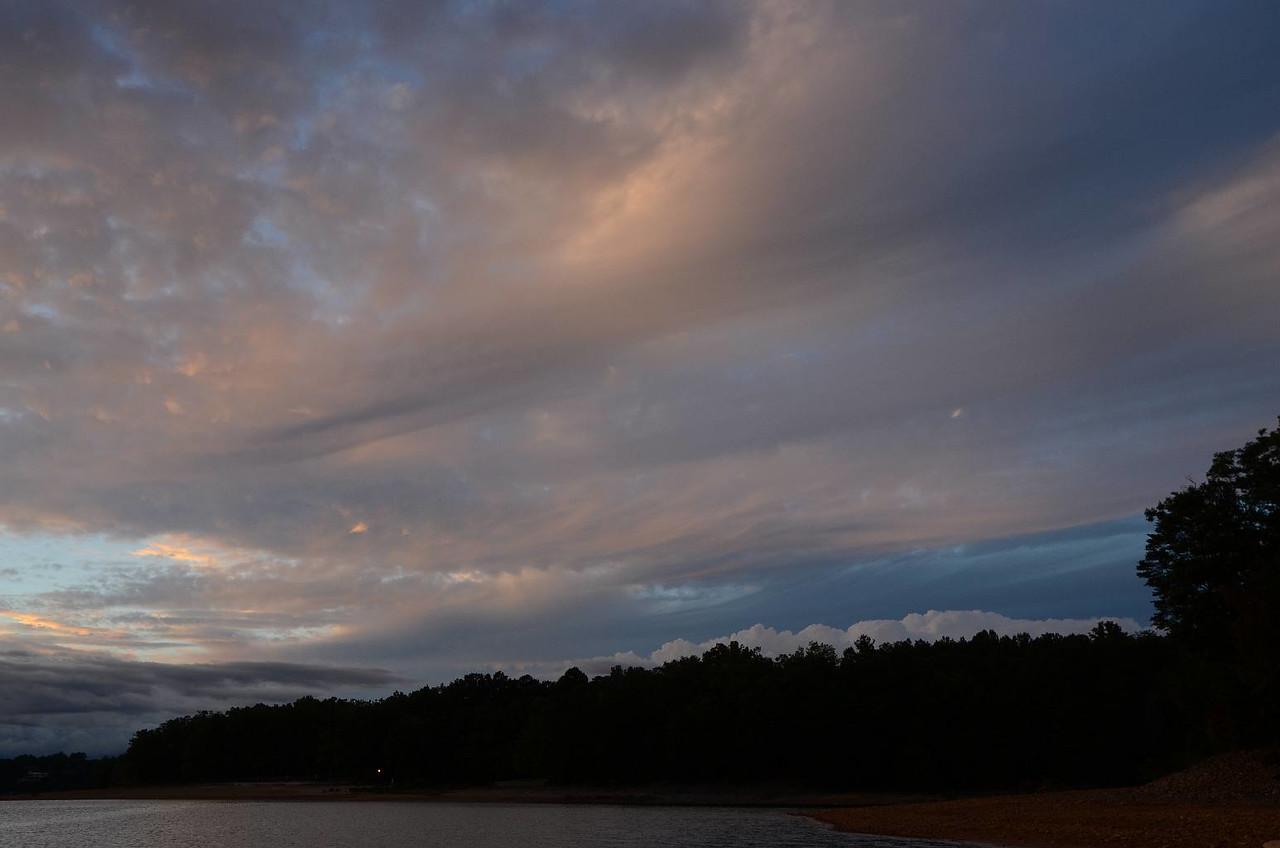3656 - Morganton sunset, prettier clouds.