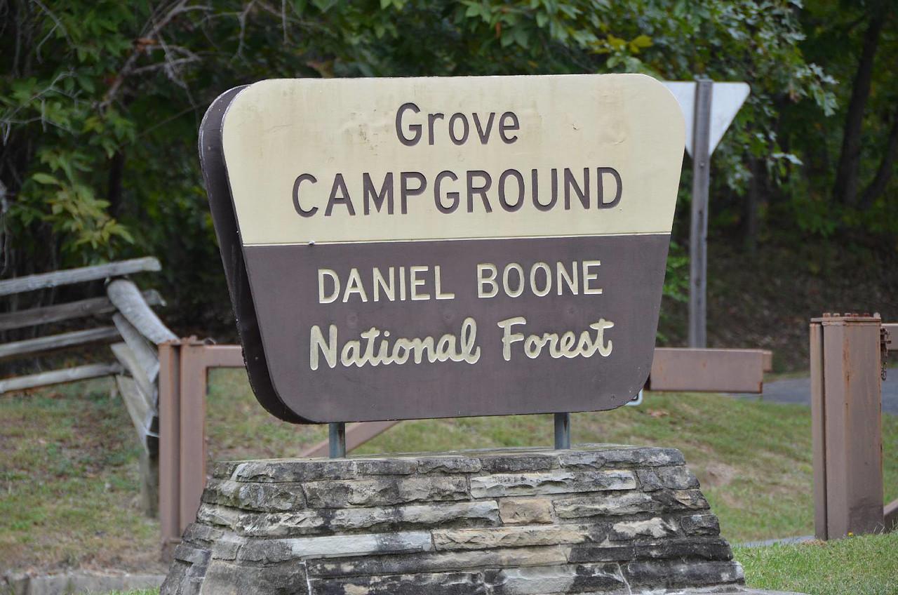 3681 - Grove Campground, KY.