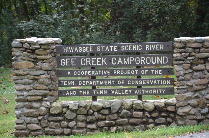 4525 - Gee Creek Campground, TN