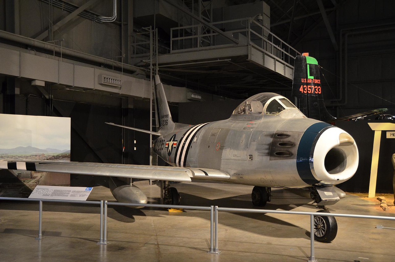 4090 - North American F-86 Sabre. Our front line fighter in the Korean War. It's main adversary was....