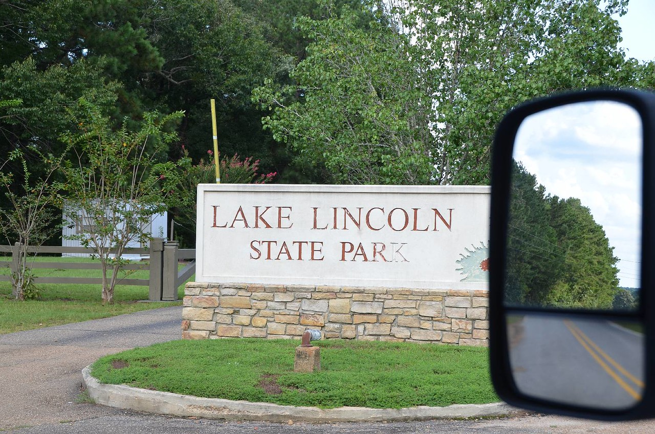 Record #446 DATE: 9/1/2017 DAY: Fri ST: MS NAME: Lake Lincoln SP LOCATION: Wesson SITE #: South 10 COST: $13.91 elec, water, dump, showers LEFT: 8:30am ARRIVED: 5pm ROUTE: I10, I12, I55 exit 55, US51,??   So, we departed the museum at 10:30am, and then had a 6 1/2 hour drive on our way to this CG in MS. In the detail portion of our road route, there is an ? That is because, we made at least 10 turns in the last 6 miles to this CG. It was worth all the turns to arrive at this CG. Our south loop campsite is nestled in the shade of towering hardwood trees. The site is paved and level and in the shade. We sat outside at 5:30PM to relax before dinner.