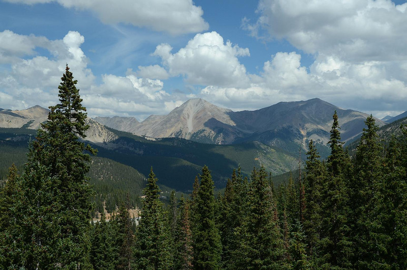 6343 - Looking south from Monarch Pass, this is the first of what I hope will be many seminal images from this trip.