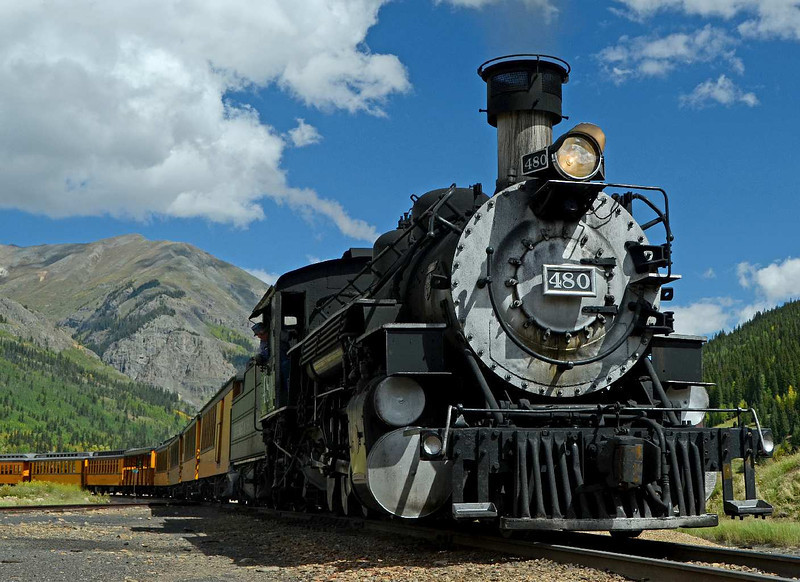 7764 - Two years ago, here in Silverton, CO, I shot #482 in almost the exact same spot. I have newer, fancier camera now, so this MUST be a better picture.