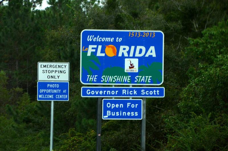 9566 - Florida at last. Sunshine, warm weather, sea level air pressure at last!