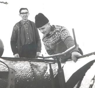Albert Bager og Trygve Thornes
