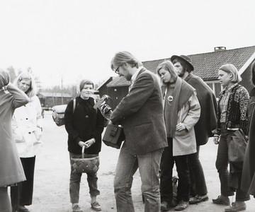 Besøk fra Skjeberg folkehøyskole Erlend Havneraas