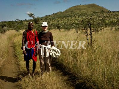 Katie & Lencai  Kanzi Kenya Africa