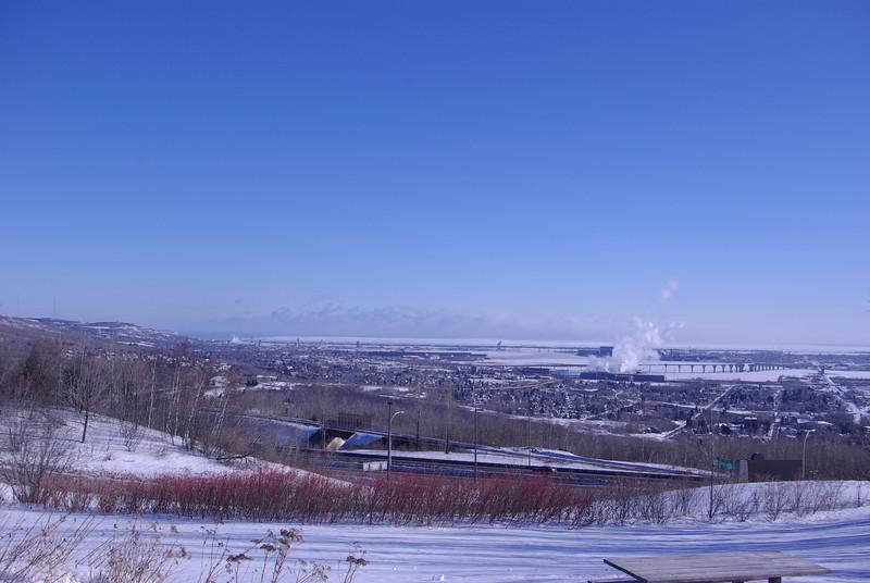 Overlooking Duluth, MN