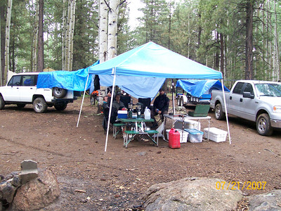 2nd Flagstaff adv camp with ride to Grand falls