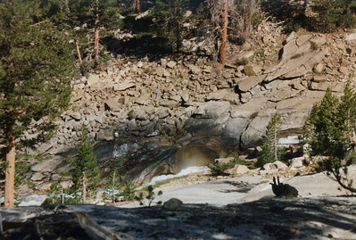 Cascades on Evolution Creek.
