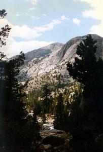 View down canyon toward Pavilion Dome.