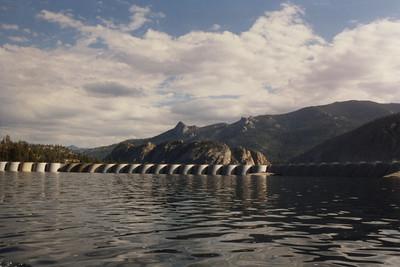 Florence Lake Dam.