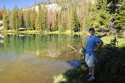 Langer Lake Backpacking