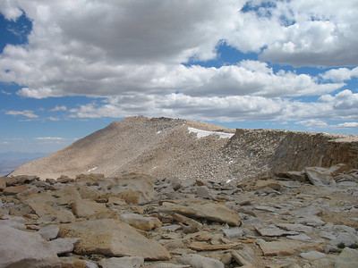 Looking across the cirque, at Cirque Peak