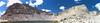 Army Pass, Cottonwood Lake #4 panorama