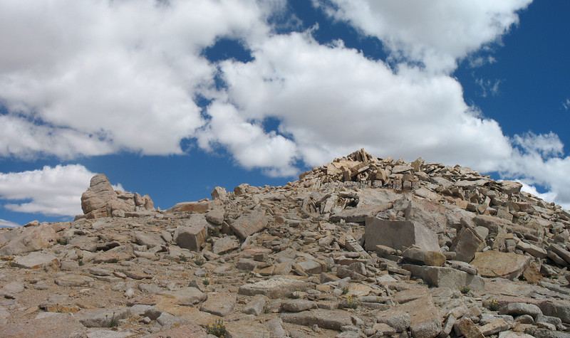 The summit. This is a Class 1 climb.