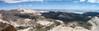 Northeastern panorama from Cirque Peak