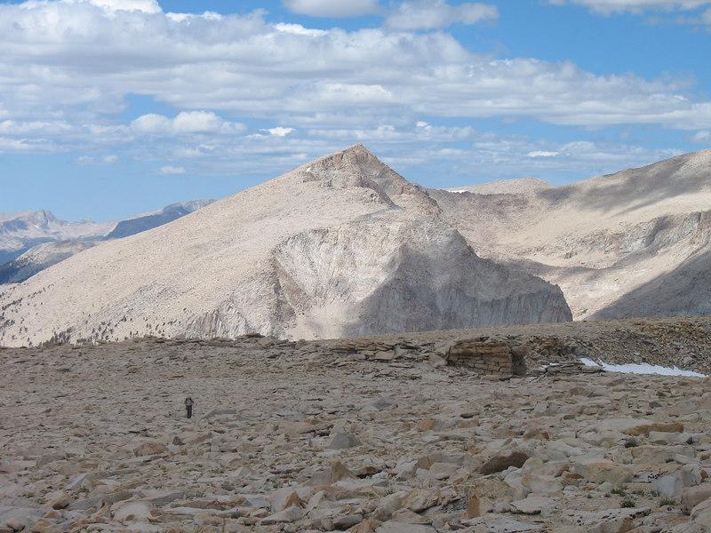 Joe Devel Peak in the background