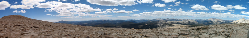 Summit plateau panorama