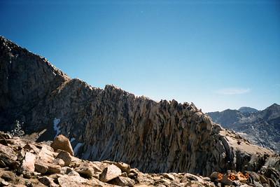 Sawtooth Peak ridge.