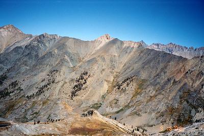 Great Western Divide, Black Rock Pass.