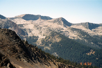 Miner's Ridge from the Sawtooth Pass Trail.