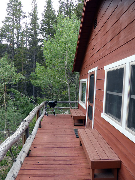 Porch on Cabin 1.