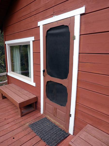 Door to Cabin 1.