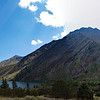 Convict Lake, Mono Jim Peak, Mount Morrison panorama.
