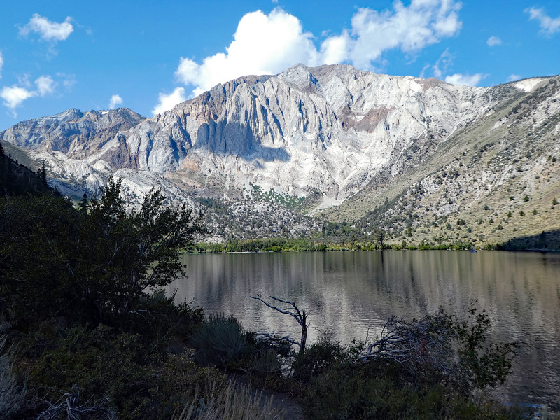 Laurel Mountain from a cove on Convict Lake.