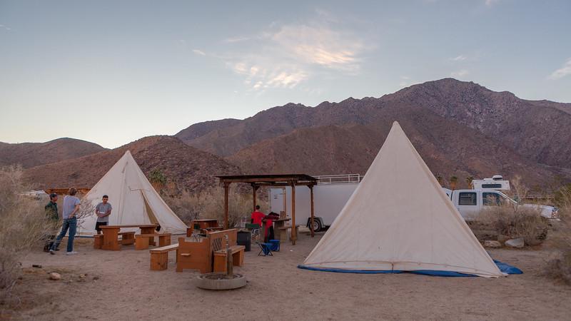 Single Pole Tents