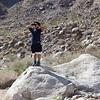 Gavin with binoculars
