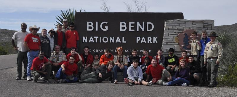 2015 Spring Break Big Bend