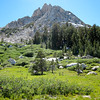 Ragged Peak Looms Above the Lake