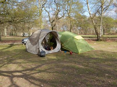 Camping April 2012