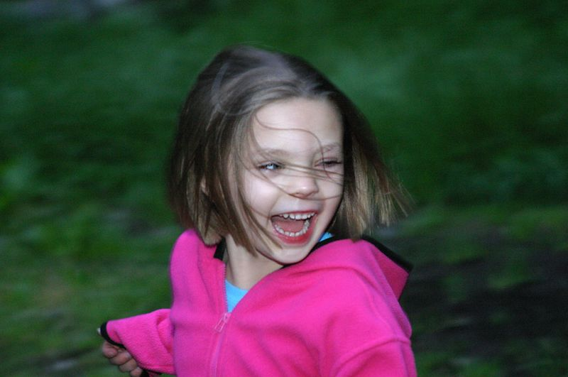 """<font size=""""&#43;1"""">Wow, look at this little girl!  So, back to the """"thing in the eye"""" saga..  Way, way earlier in the day, back when the adults are trying to make the kids take a nap in the  hammock, Hailey is complaining about something in her eye.  I said to Hailey, look up at the sky and think of something sad to make you cry, where upon I was beset by all the parents.  """"What!  Tell her to be sad!?!?!,  what are you thinking?"""" <P> <font size=""""&#43;1"""">So, okay, that may have sounded weird, but hey, how do you make a 5 year old cry hard?  It turns out that you say something like, """"We're going to take you to the doctor to see what's in your eye, Hailey.""""  This will make a 5 year old cry SOOOO hard, that whatever was in her eye, it got flushed out. <P> <font size=""""&#43;1"""">So here we are, after thinking that Shawn and Nica were going to head out for home and the hospital ER, Rex, Sarah, Melissa and I find that Shawn and Nica AND Hailey are waiting for us back at camp.. <P> <font size=""""&#43;1"""">I stand vindicated for saying """"You need to cry, Hailey!"""" </font>"""
