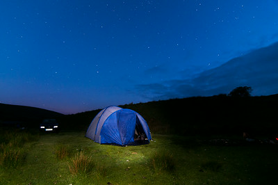 Camping in Scotland - 2014