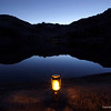 Candle at Leprechaun Lake, Alpine Lakes Wilderness-Washington Cascades