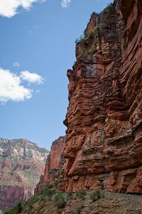Cliffs along the North Kaibab Trail