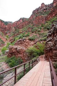 Bridge on the North Kaibab Trail
