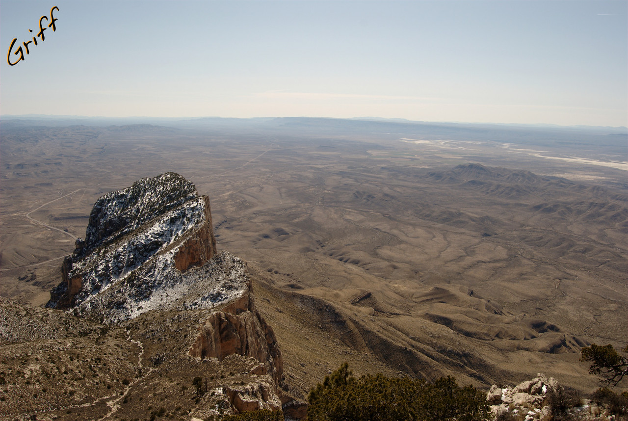 This is El Captain from the north.  The view from the south on the highway is a common view, but this one isn't seen by quite as many people.  You can see the highway on the far left of the photo.