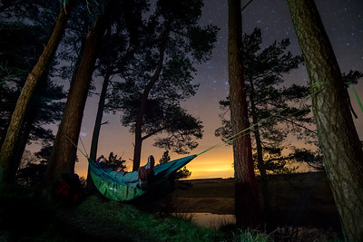 Hadrian's Wall Hammocking - March 2017