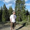 Dan Posing under Mt. Shasta