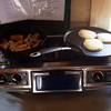 This cabin even had a propane tank and range!  All the better for Jason's tasty breakfasts.