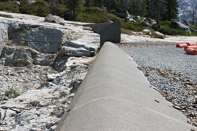 The spillway at Loon Lake.