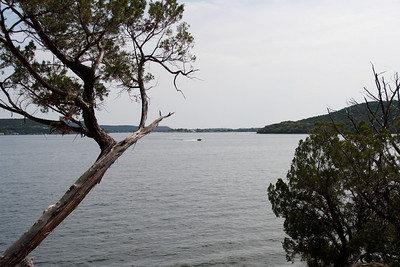 Possum Kingdom Lake from our campsite