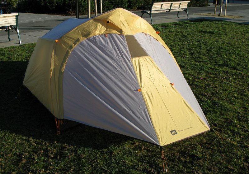 REI Hoodoo 3 Tent. Read More. Here is a front view of the tent all set up and doors closed. & REI Hoodoo 3 Tent - michaelnel