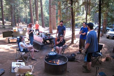 RPG Camping at Big Trees