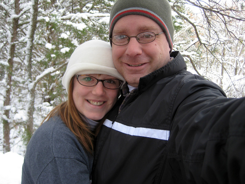 Crystal & Ken in the snow