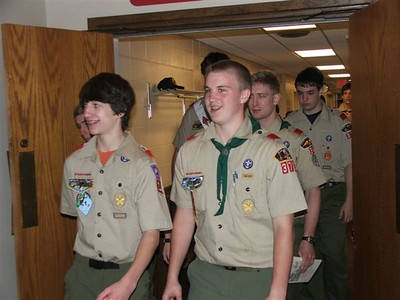Scouting Weekend at SJUMC 2/9/2008